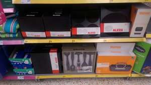 Alessi Ku tableware range available in store £4 at Morrisons