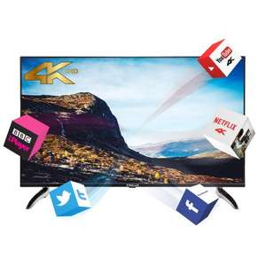 Finlux 43 Inch 3D Smart 4K LED Ultra HD TV With Freeview HD £324.99 Delivered @ Finlux via eBay