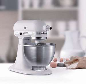 KitchenAid White Classic Stand Mixer - £159.00 - Tesco Direct (In Stock)