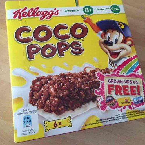 Kellogg's coco pops 6pk 55p @ Co-operative