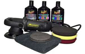 Meguiars MT320 Dual Action Polisher ultimate Kit £217 @ Halfords