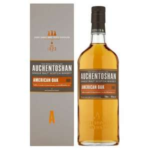 Auchentoshan American Oak 70Cl SAVE £10.00 Was £30.00 Now £20.00 @ Tesco