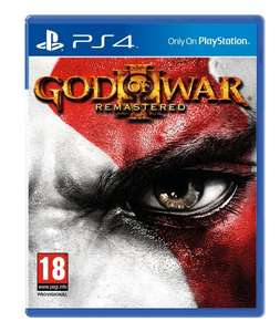 God of War III Remastered PS4 £11.99 @ Argos