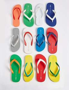 Marks ad Spencer - Free flip flops worth £7.50 when you spend £35