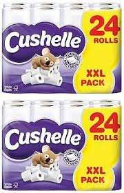 Cushelle Toilet Roll X 24  -  Buy One Get One Free ( 48 Toilet Rolls ) At Makro £10.99 + 20% VAT.  £0.27.5 Per Roll. * £6.56 For 24 Toilet Rolls *