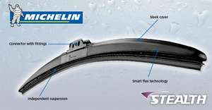 Michelin Stealth Hybrid Windscreen Wiper Blade ASDA half price £7.50 In Store and Online