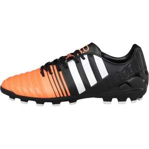 Adidas Mens Nitrocharge 3.0 AG Football Boots Black/White/Flash Orange £ 8.99 + £4.99 Delivery (£13.48) @ MandM Direct