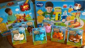 toot toot driver sets cars and animals better than half price £2.10  @ sainsbury's