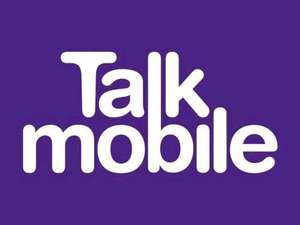 TALK MOBILE Sim Only 12 Months 3000 mins 5000 text 4gb data £10 per month £120 + poss £45.55 topcashback making it £6.20 per month