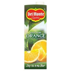 Del Monte tomato juice / mango & papaya juice / 100% Pure Orange Juice 1litre only 70p @ Waitrose