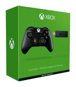 Microsoft Xbox One Controller + Wireless Adapter for Windows 10 £39.99 Dispatched from and sold by 3-Monkeys / Amazon