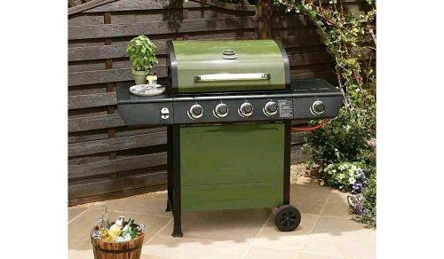 Uniflame 4 burner Bbq with side ring £32.25 Asda
