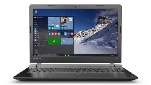 "Lenovo 100-15IBD 15.6"" Intel Core i3-5005u 2GHz 4GB RAM, USB 3.0, DVD Writer, 500GB, Win 10, Black Laptop for £204 (using voucher) at Tesco Direct (Free C+C)"