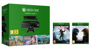 Xbox One 500GB With Kinect / Halo 5 / Tomb Raider / Kinect Sports Rivals /  Zoo Tycoon & Dance Central Spotlight - £229.99 - eBay/Shopto