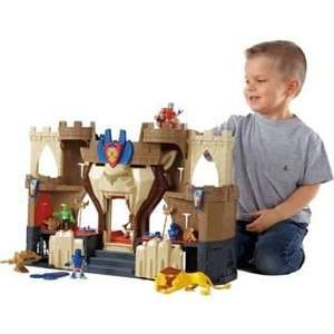Fisher-Price Imaginext Castle Playset was £49.99 then £24.99 now £17.99 C+C @ Argos
