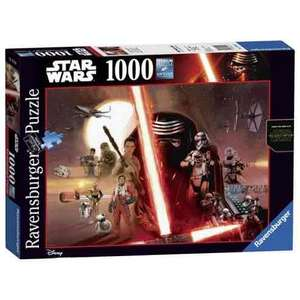 Star Wars 1000 piece jigsaw puzzle - £7.80 (+£2 C&C) @ Tesco