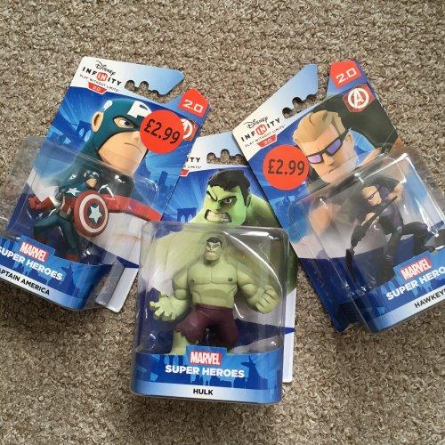 Disney Infinity 2.0 characters £2.99 at Sainsbury's