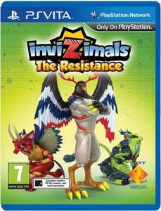 Argos: Invizimals: The Resistance PS VITA Game £5.99 @ argos/ebay
