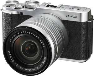 Fujifilm X-A2 Premium Camera with 16-50mm II lens £289.99 @ Argos