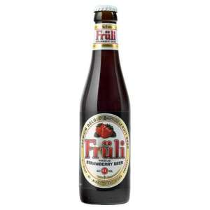 Fruii Premium Strawberry Beer 4.1% 330ml 90p at Tesco