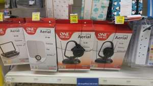 ONE FOR ALL Indoor Aerials Tesco Harrow Reduced to Clear £11.50