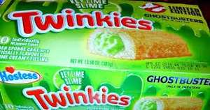 Twinkies ghostbusters key lime slime edition  £2.99 -b&m instore