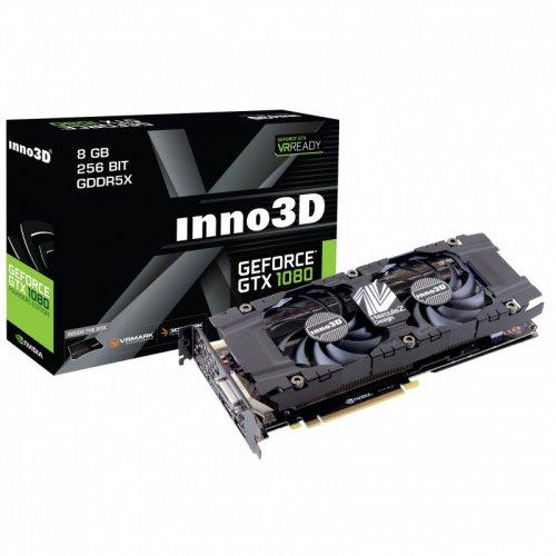 Inno 3D GeForce GTX 1080 HerculeZ Twin X2 8192MB GDDR5X PCI-Express Graphics Card from www.overclockers.co.uk - £575.99