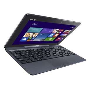 "Asus T100T Transformerbook 10.1"" Laptop 32GB SSD 2GB RAM Win8 Touchscreen - Refurbished -Black @ Ebay/Tesco - £89"