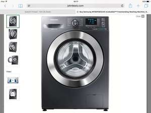Samsung WF80F5E5U4X ecobubble washer £369 with *5 year G/T John Lewis