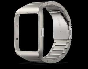 Sony Smartwatch 3 leather and stainless straps now in stock £29.99 sonymobile eshop