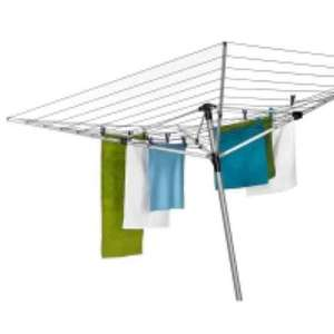 Wilko Rotary Airer 4 arm 60m down from £45 to £8.40