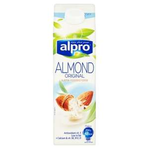 Alpro Fresh Original / Unsweetened Almond Milk / Hazelnut Milk / Almond Coconut Milk / Coconut Milk Alternative 1 Litre only £1 @ Tesco