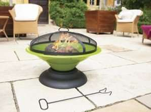 La Hacienda Lime Moda Firepit for £15 at Tesco Direct (C+C £2 or Free with £30 Spend)