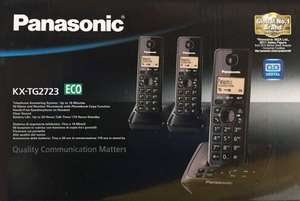 Panasonic KX-TG2723 Trio DECT Cordless Phone with Answering Machine £17 @ Asda