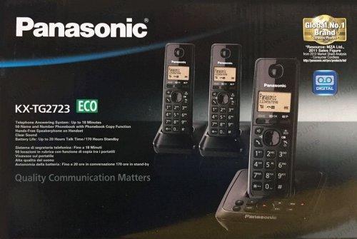 Panasonic KX-TG2723 Trio DECT Cordless Phone with Answering Machine £17 @ Asda