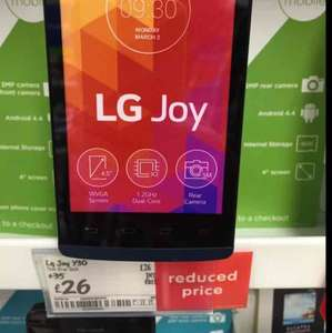 LG Joy Mobile Phone £26 @ Asda Instore