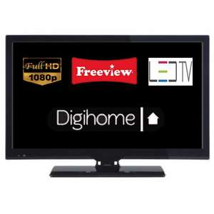 """Digihome 22276FHDE LED Backlit 22"""" LED TV Full HD 1080p Freeview HDMI / USB / Scart / PC input £65 Del @ Tesco Ebay Outlet"""