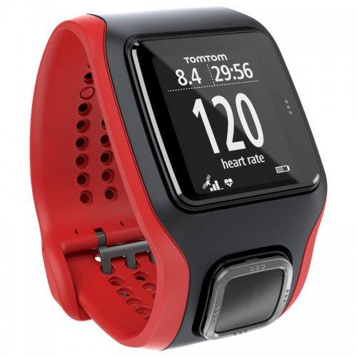 HRM Runner Cardio Refurbished GPS Watch (Red/Black) £79.99 at SportPursuit