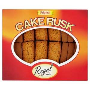 Regal Original Cake Rusks (18 Pieces) for £1 @ Morrisons
