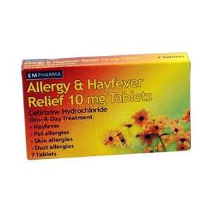 30 Hayfever (Cetirizine) Tablets 30 for 99p @ B&M
