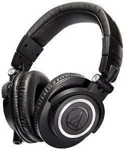 Audio-Technica ATH-M50X - Black £109.00 (incl del) @ Amazon