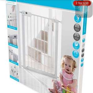 Mothercare Safest Start Easy Loc Pressure Fit Safety Gate X 2 £30