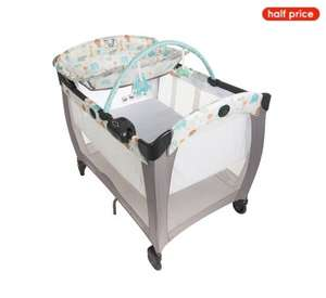 HALF PRICE - Graco Contour Electra Travel Cot - Vibrating Bassinette/Night Light/Music Player and more £59.99 @ Mothercare