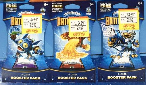 Skylanders Battlecast Booster Packs £2.99 @ Smyths