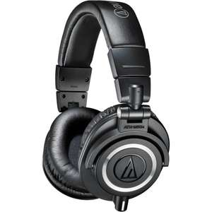 Used - Good - Audio-Technica ATH-M50X Studio Monitor Professional Headphones - Black £88.49 @ Amazon Warehouse