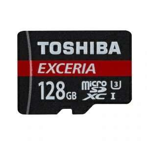 TOSHIBA 128GB EXCERIA MICRO SDXC 4K CARD WITH ADAPTER UHS-I U3 - 90MB/S £24.99 @ MyMemory