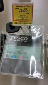 Ink Cartridge Epson T0556 £3 Tesco instore