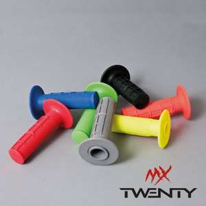 TWENTY motorbike/ motocross grips 99% saving !! 10p + £9 delivery @ 24mx