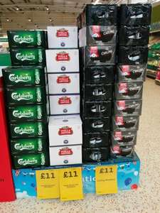 Stella Artois 20 X 248 ml for £11 in Morrisons