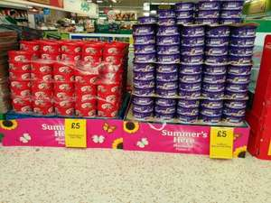 Celebrations 750g tub / Cadbury Heroes 695g tub for £5 in Morrisons